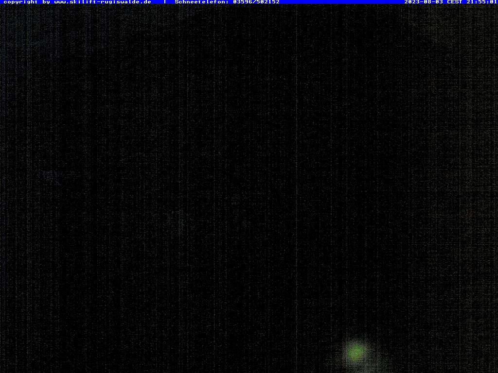 Webcam Ski Resort Rugiswalde Elbe Sandstone Mountains