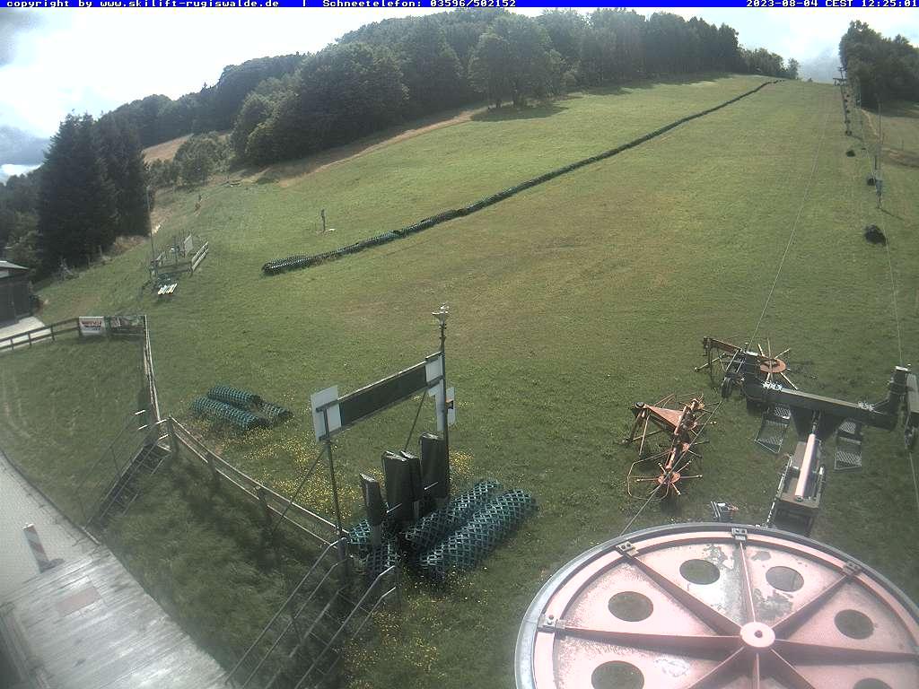 Webcam Skigebiet Rugiswalde Elbsandsteingebirge